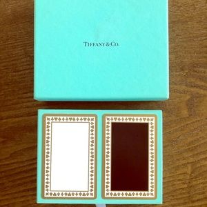 New in box set of Tiffany playing cards